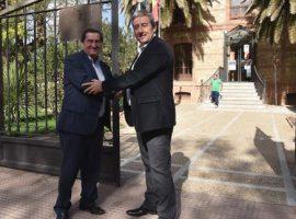 El presidente de la Diputación visita Benalúa