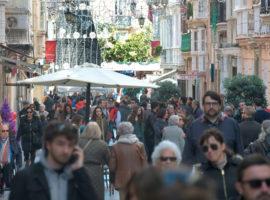Siete de las ocho capitales andaluzas perdieron población en 2016