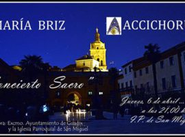 El Coro María Briz y Accichorus ofrecen un concierto sacro en San Miguel el próximo 6 de abril