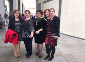 Presencia institucional accitana en la gala de Medallas de Andalucía e Hijos Predilectos 2017