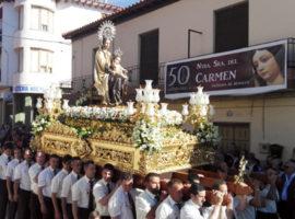 Procesión extraordinaria de la Virgen del Carmen de Benalúa