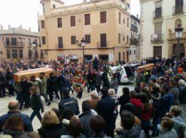 Funeral multitudinario por los fallecidos en el accidente pirotécnico de Guadix (FOTOS Y VIDEO)