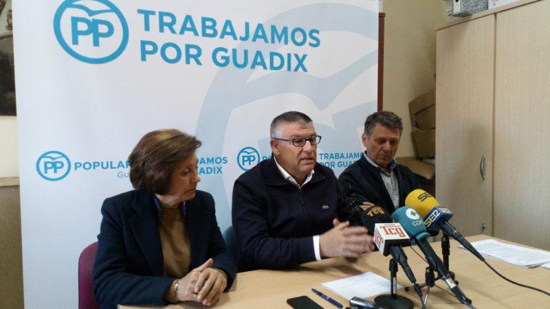 El Partido Popular presenta una serie de iniciativas para favorecer la implantación de empresas en Guadix que generen empleo y riqueza (INCLUYE VIDEO)