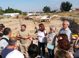 Éxito de público en las visitas guiadas al yacimiento arqueológico de Mondragones