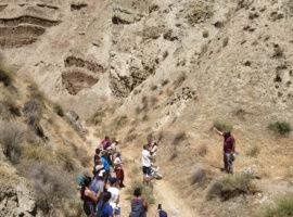 La Escuela de Turismo Rural imparte en Huéscar un curso para guías del Geoparque de Granada