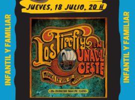 El parque municipal acoge hoy el espectáculo «Los Firefly, una aventura del Oeste» de la compañía Vagalume Teatro