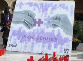 La concentración mensual contra la violencia de género se celebra este viernes a las siete y media en la Plaza de la Constitución