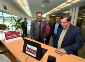 Diputación implanta en su sede un servicio para que las personas sordas puedan comunicarse sin intérprete