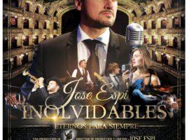 """Siguen a la venta las entradas para el espectáculo """"Inolvidables. Eternos para siempre"""" del accitano Jose Espi"""