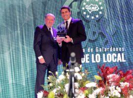 Diputación recibe un premio de la FAMP por dar voz y favorecer la iniciativa de los municipios en la candidatura del Geoparque