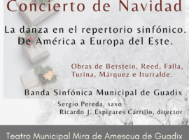 Ya están disponibles las entradas del Concierto de Navidad de la Banda Sinfónica Municipal de Guadix en el área de Cultura