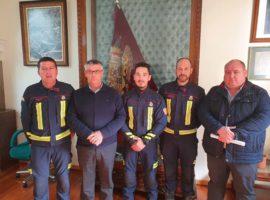 Toma de posesión de Sergio Navarrete Heras como personal funcionario del Servicio de Extinción y Prevención de Incendios de Guadix