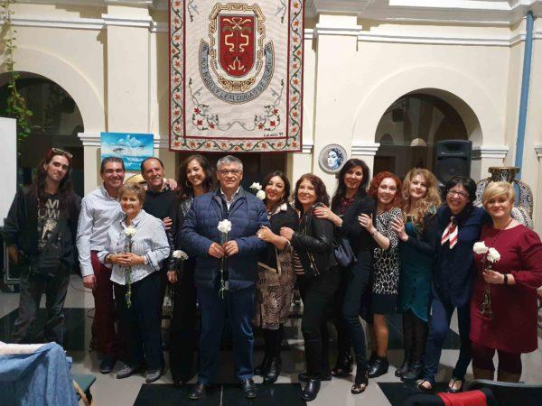 Éxito de participación en la exposición grupal y recital poético celebrado ayer en el marco de las actividades con motivo del Día Internacional de la Mujer